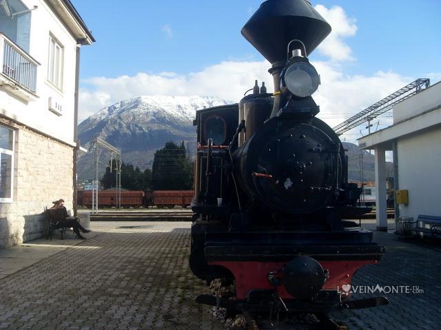 Ж/д вокзал Бар Черногория