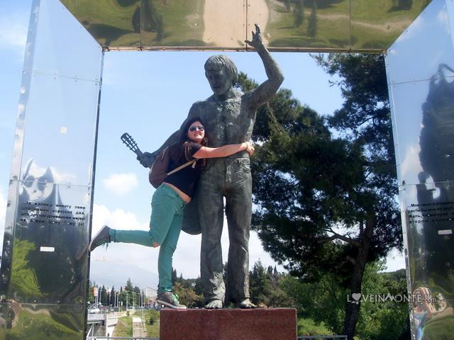 Памятник Высоцкому Подгорица