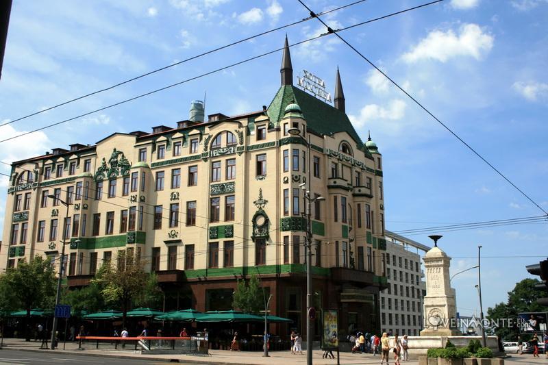 Гостиница Москва Белград
