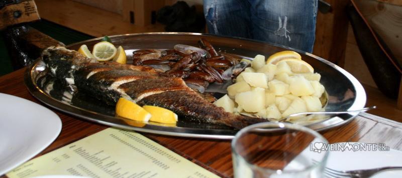 Рыбный ресторан на Ада Бояна Cickova Carda