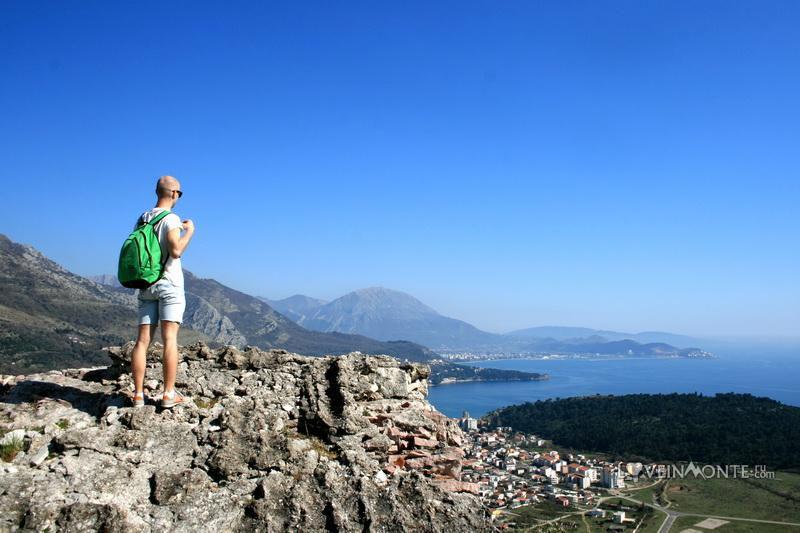 Вид с крепости Нехай Черногория