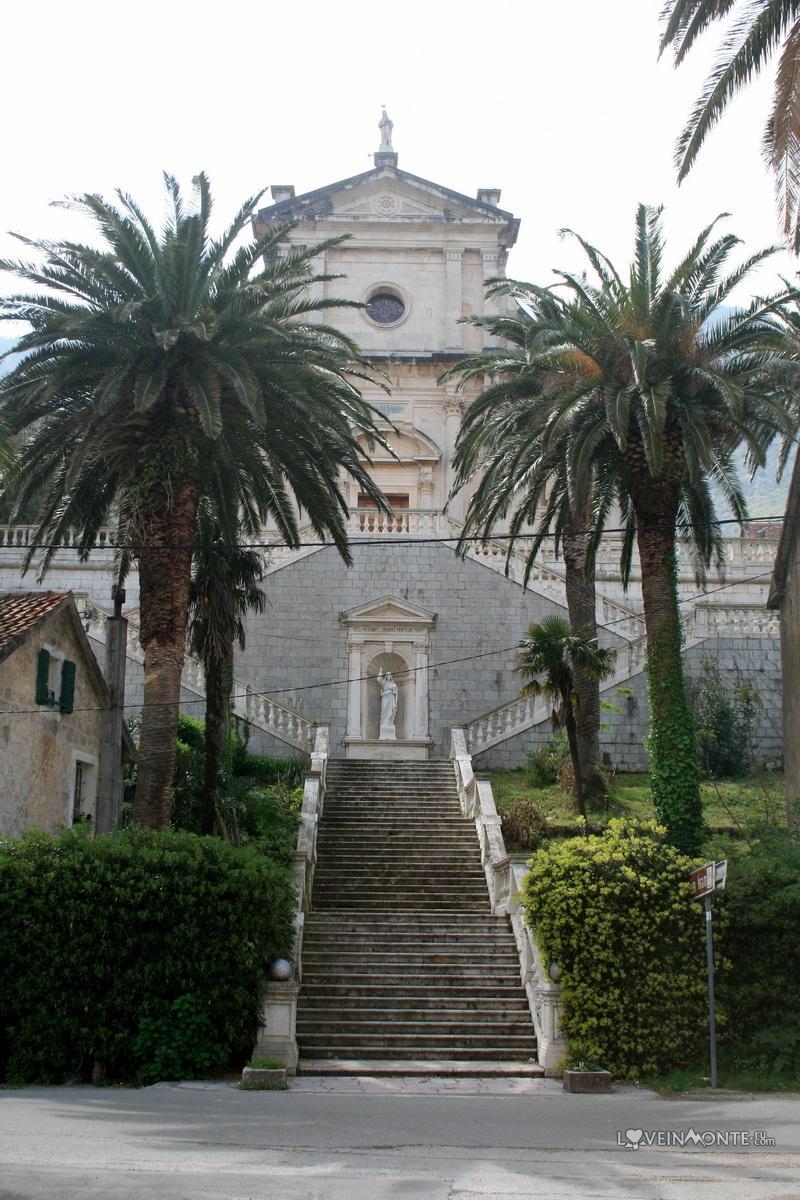 Храм Богородицы Прчань Черногория