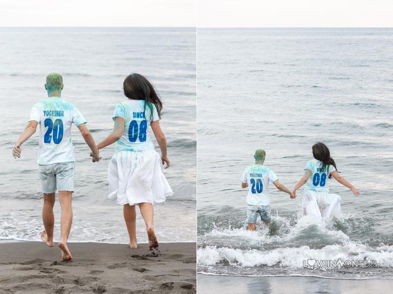 Фотосессия на море lovestory