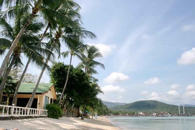 Самуи, пляж Банг Рак