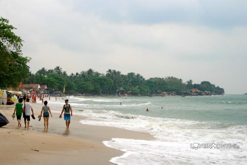 Пляж Чавенг, Самуи