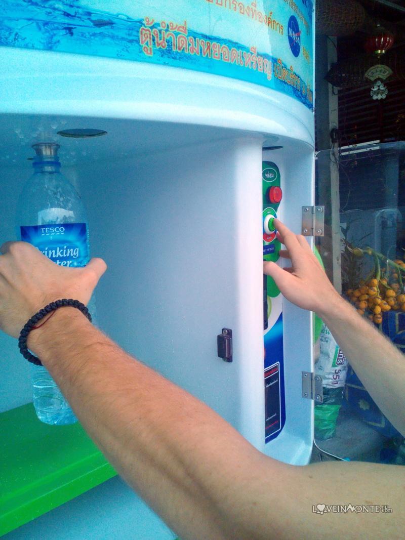 Как пользоваться водоматом