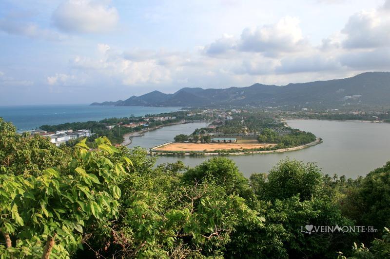 Смотровая площадка на озеро Чавенг на Самуи