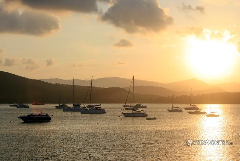 Закат на острове Самуи