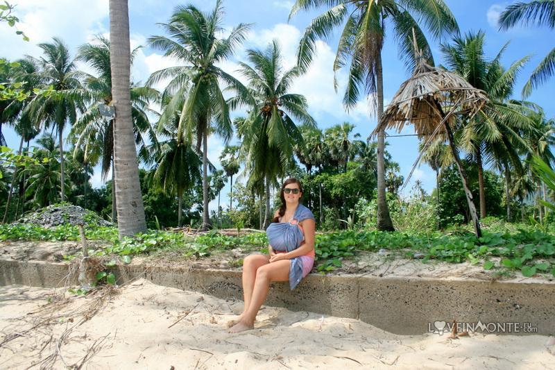 Пальмы на пляже Самуи