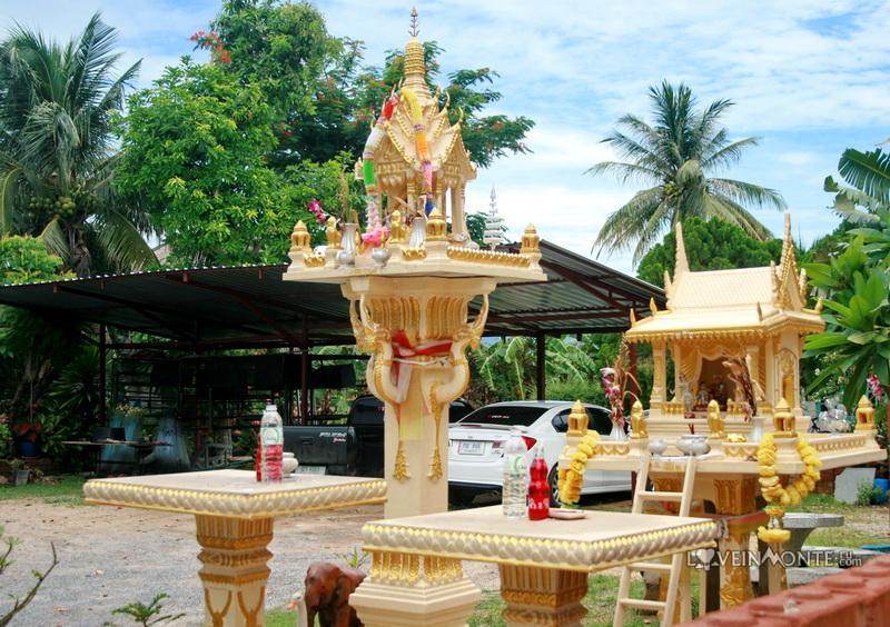 Домик для духов в Таиланде