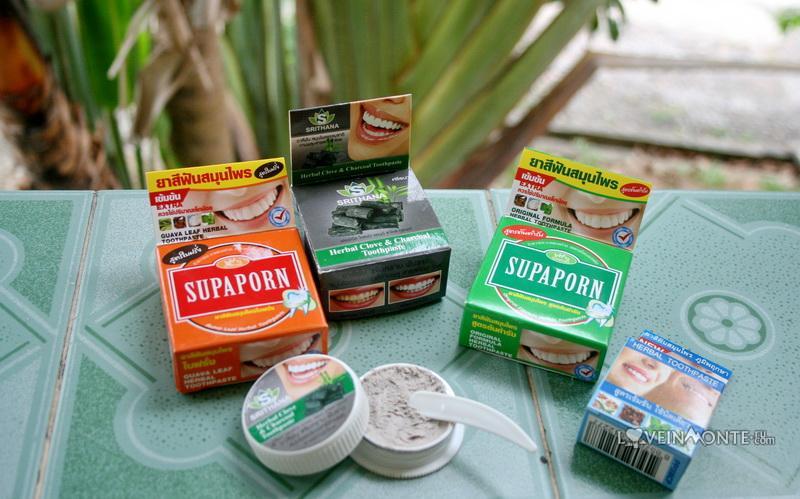 Тайские круглые зубные пасты