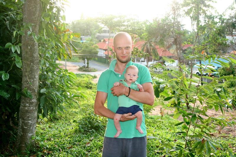С ребенком в Таиланде