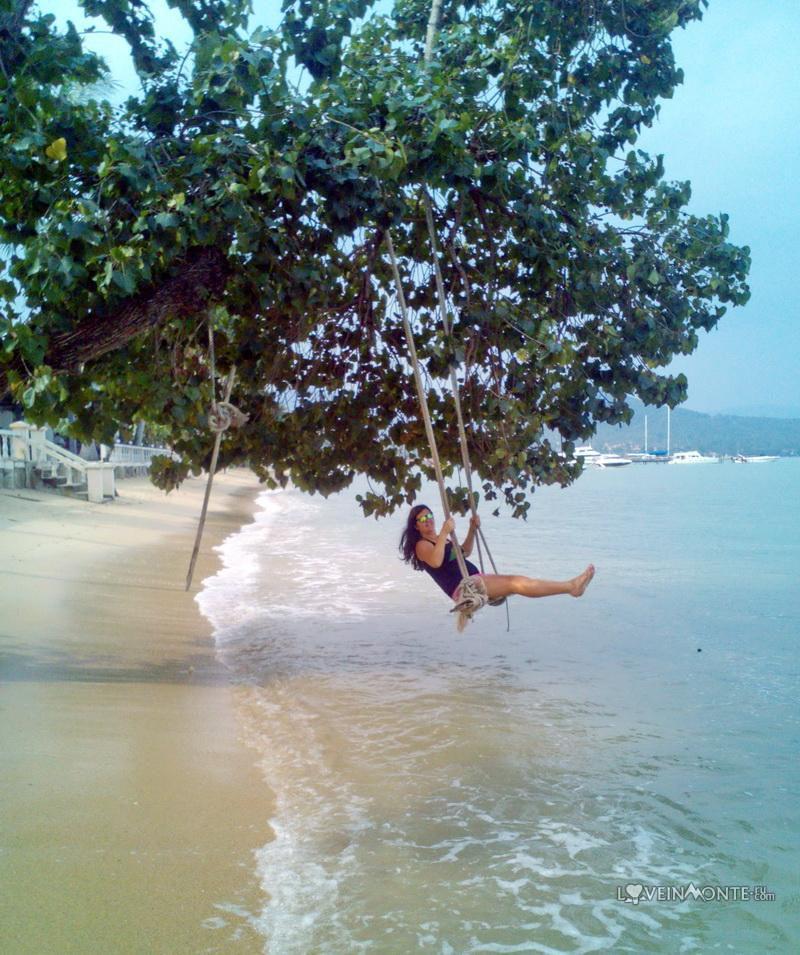 Качеля на пляж на Самуи