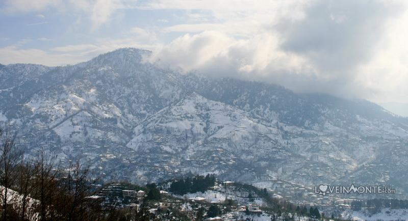 Горы над Батуми