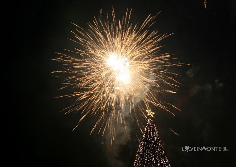 Фейерверк на Новый Год в Батуми
