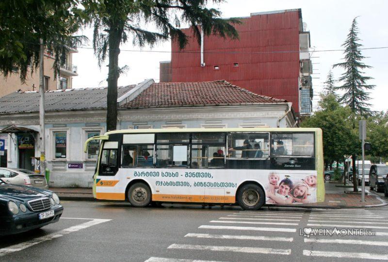 Автобусы в Батуми