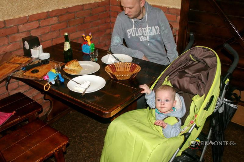 В Батуми с ребенком