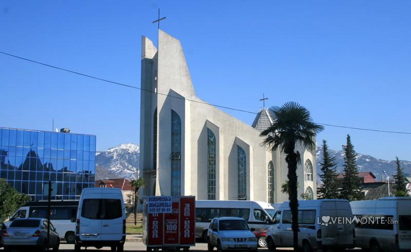 Католический храм в Батуми