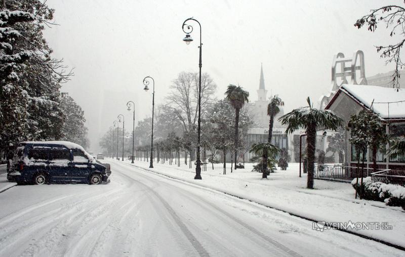 Зима в Батуми