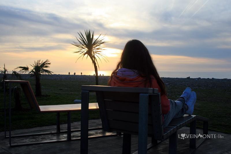 Закат в Батуми