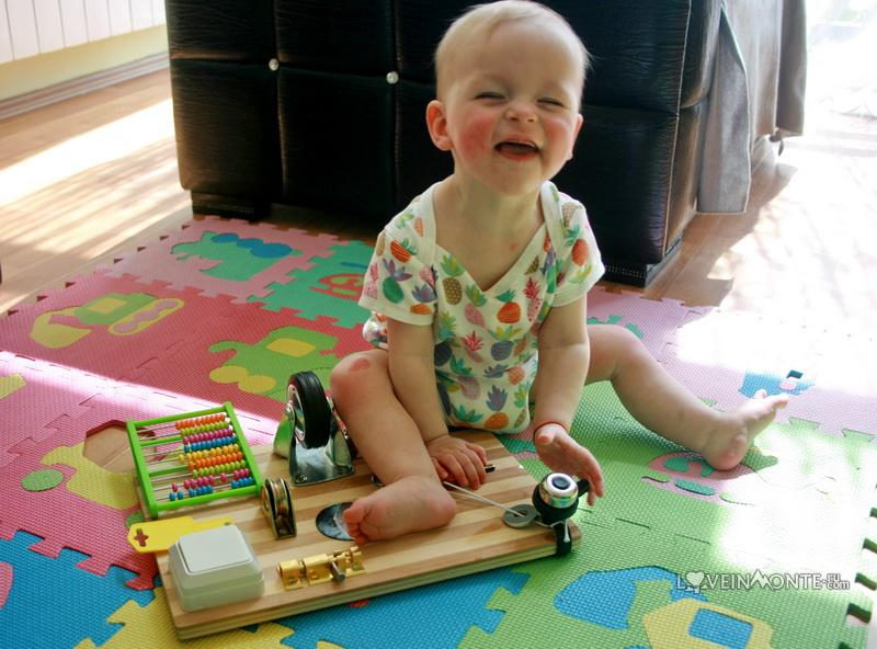 Busyboard для ребенка своими руками
