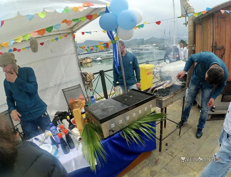 Фестиваль местных морепродуктов в батуми