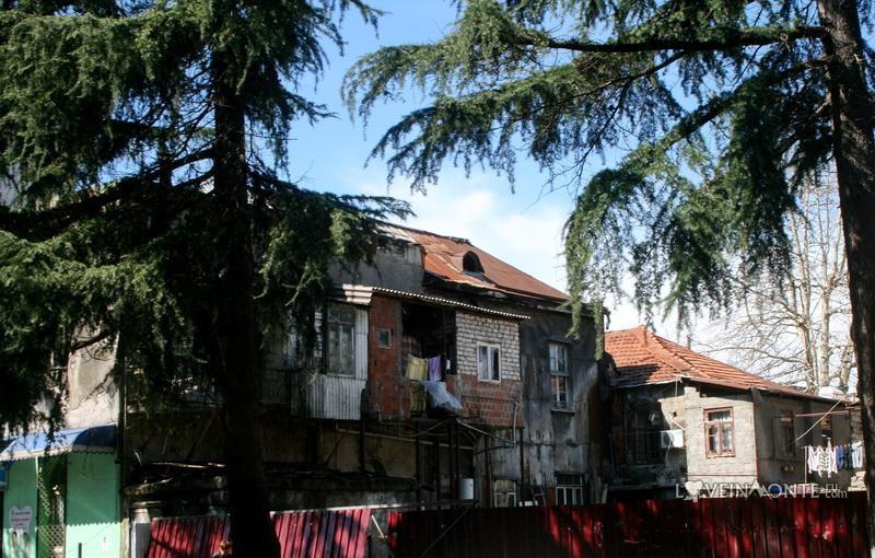 Страшные дома в Батуми