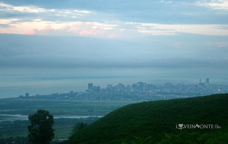 Вид на Батуми с гор