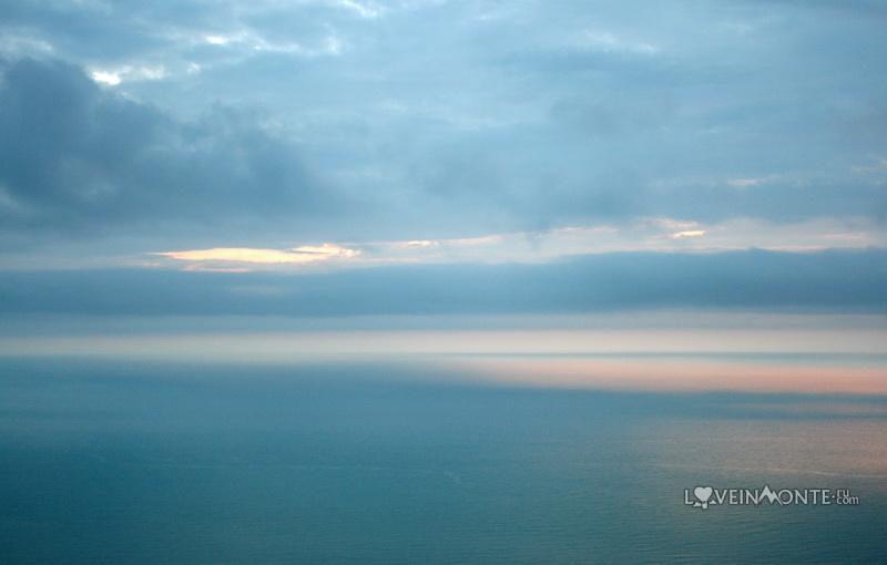 Вид на море с гор