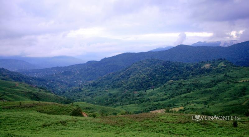 Горы над Гонио, Аджария