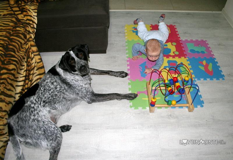 Детский мягкий коврик