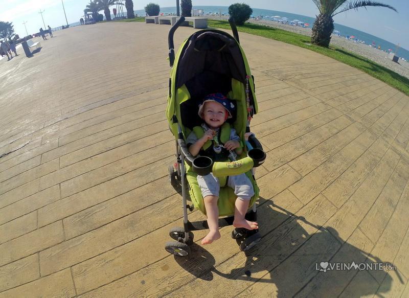 Лето в Грузии с ребенком