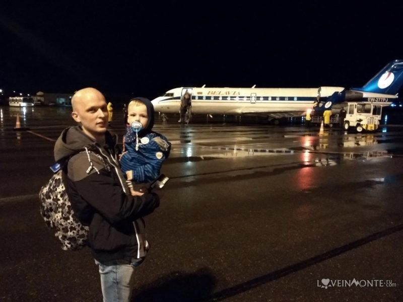 Перелет из Батуми в Минск с собакой и ребенком