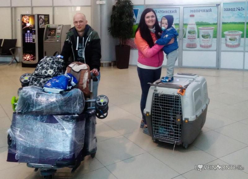 Переезд из Грузии в Беларусь