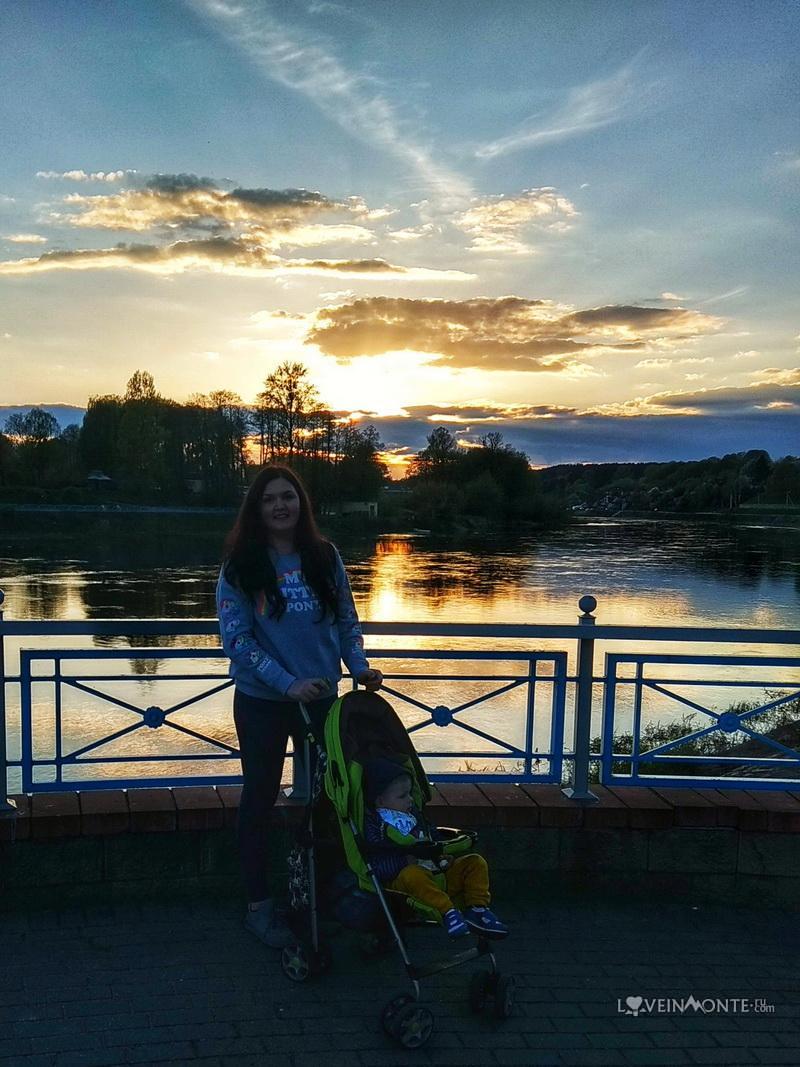 Закат в Гродно