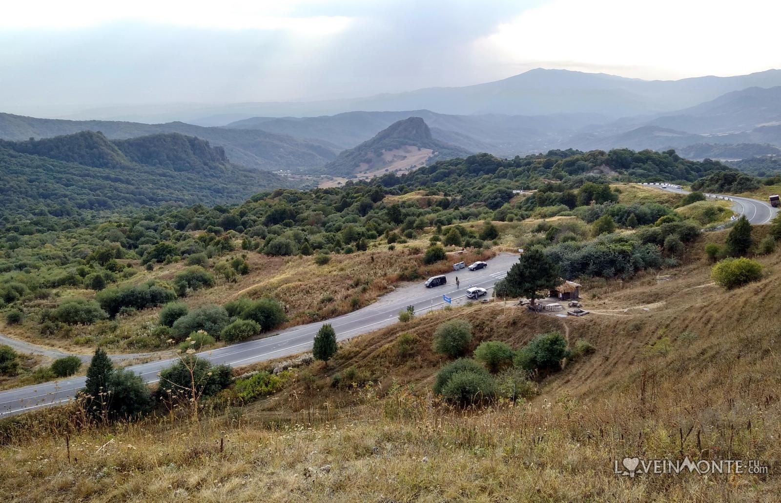 Перевал Гомбори в Грузии