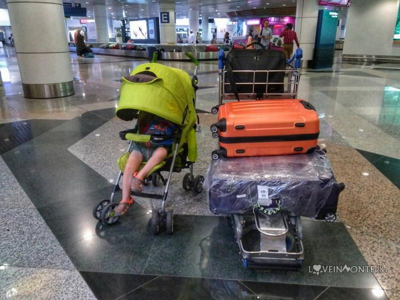 Перелет в Малайзию с ребенком