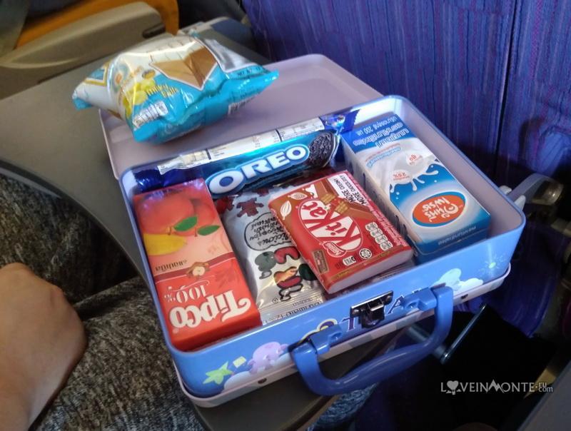 Детское питание Тайских авиалиний