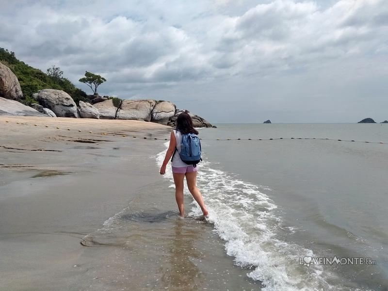 Пляж Сай Ной в Таиланде
