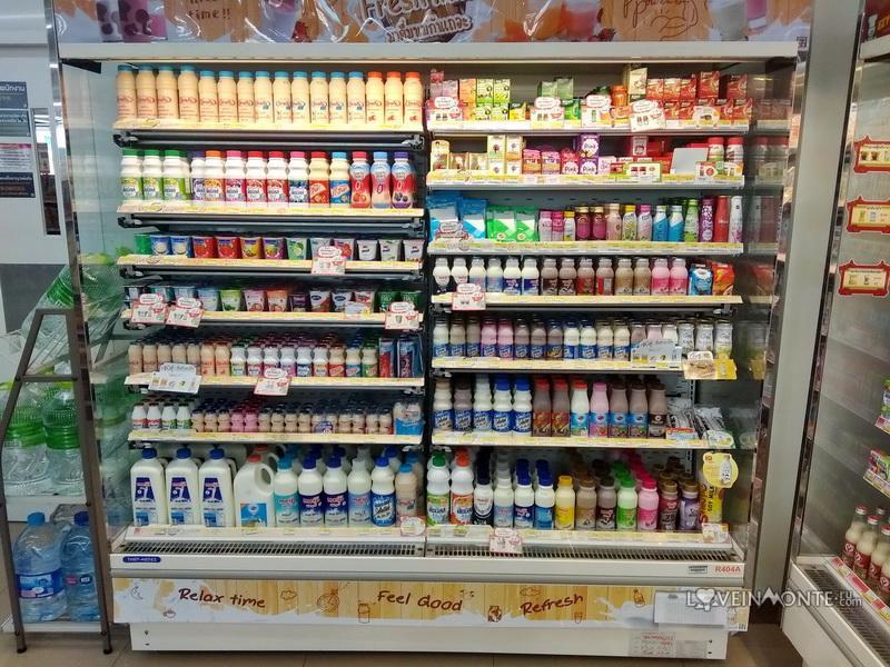 Молоко в Таиланде