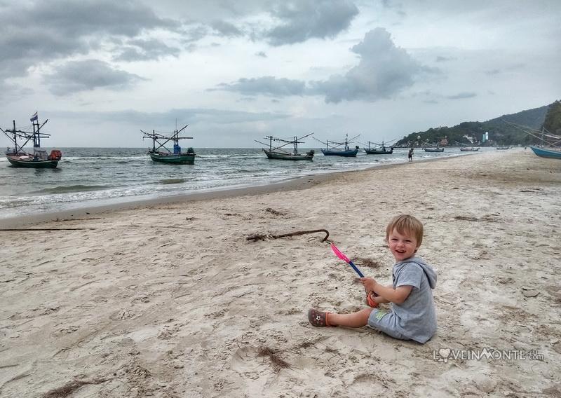 Пляж в Као Тао