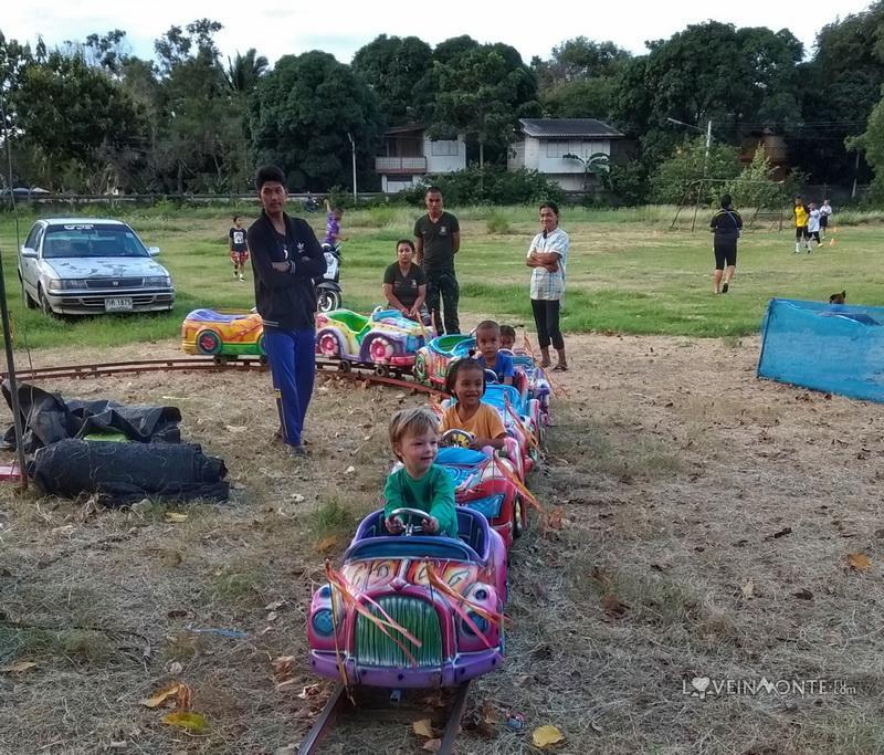 Детский праздник в деревне Као Тао